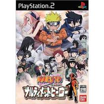 Naruto Shippuden Ultimate Ninja Heroes Ps2 Japonesa