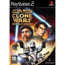 Star Wars The Clone Wars Republic Heroes Ps2*