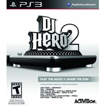 Dj Hero 2 Software (stand Alone) Ps3 Nuevo Blakhelmet