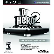 Dj Hero 2 Software (stand Alone) Ps3 Nuevo Blakhelmet
