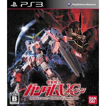 Gundam Unicorn Ps3 Japonesa