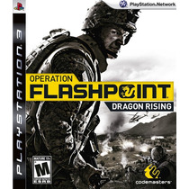 Operation Flashpoint Dragon Rising Ps3 Nuevo Citygame