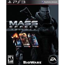 Mass Effect Trilogy Para Ps3 Playstation 3 Nuevo Y Sellado