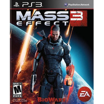 Mass Effect 3 Para Ps3 Playstation 3 Nuevo Y Sellado
