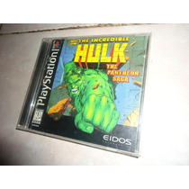 The Incredible Hulk Para Ps1