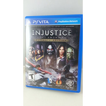 G0212 Playstation Ps Vita Videojuego Injustice Gods Among Us