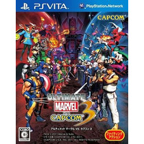 Ultimate Marvel Vs Capcom 3 Ps Vita Japonesa