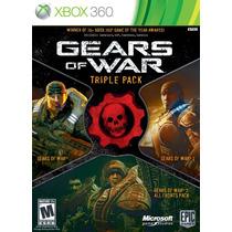Gears Of War Triple Pack Xbox 360 Nuevo