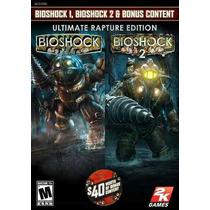 Bioshock Bundle 1 Y 2 Xbox 360 Nuevo