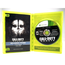 G0360 Xbox 360 Videojuego Videogame Call Of Duty Ghosts