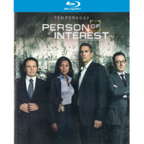 Person Of Interest Segunda Temporada Bluray