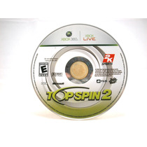 G0331 Xbox 360 Videojuego Videogame Top Spin 2