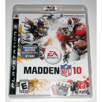 Madden Nfl 10 Para Playstation 3, Ps3