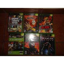 40 Juegos Originales De Xbox Clasico
