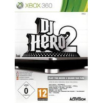 Dj Hero 2 Xbox 360 Nuevo Blakhelmet