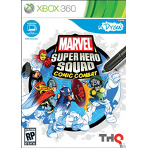 U Draw Marvel Super Hero Squad Comic Combat Xbox 360