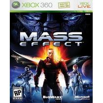Mass Effect Para Xbox 360 Nuevo Y Sellado Op4 Rm4 Hm4