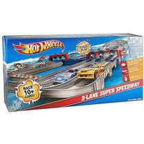 Original Hot Wheels Pista 3 Lane Super Speedway