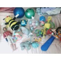 Caja De Juguetes Varios Cat.dog,barbie,abeja ,pelotas