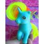 Mi Pequeno Pony Con Pelo Fluorescente De Los 80s
