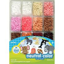 Perler Beads :: Estuche 4,000 Cuentas (16 Colores Neutros)