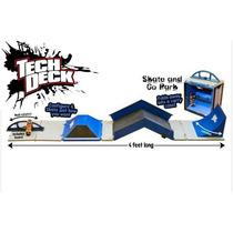 Tech Deck Skate And Go Park Patineta Ycoleccionador Portable