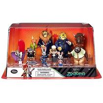 Zootopia Set 10 Figurines Figuras Disney Original Importados