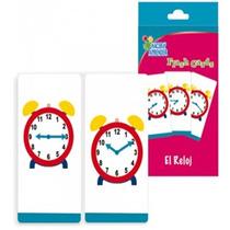 Fichas Card Reloj Material Didactico