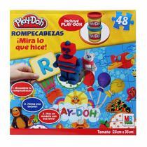 Play-doh Rompecabezas 48pz 2 Botes Y 16 Tarjetas 28cm * 35cm