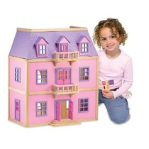 Melissa & Doug Multinivel Dollhouse De Madera