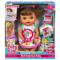 Tb Muñeca Baby Alive Real Surprises Baby Doll``