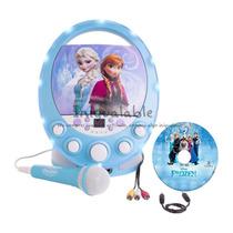 Maquina De Karaoke De Frozen Cd,mp3,ipod