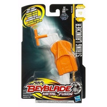 Beyblade Lanzador String Launcher Cuerda Retractil Resorte.