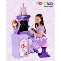 Escritorio Con Sonidos Princesita Sofía, 8 Accesorios Disney