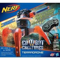 Araña Robot Nerf Control Remoto Lanza 12dardos 60m.distancia