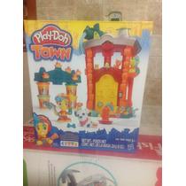 Play Doh Town Estación De Bomberos De Hasbro