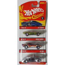 Hot Wheels Classics Series 3 69 Camaro, Rodger Dodger & 40