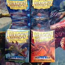 Micas Dragon Shield En Su Línea Clásica Y Las Nuevas Matte