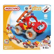 Meccano Build & Play Fire Truck 6 Modelos En 1