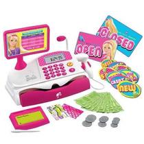 Juguete Caja Registradora Barbie Rosado