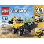 Lego Creator 3 En 1 Vehiculos De Construccion Blakhelmet E