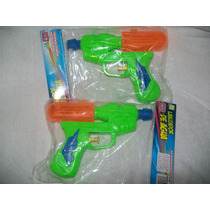 Gcg Lote De 2 Pistolas De Agua Juguete Verde Y Naranja Mmy