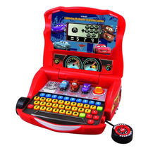Laptop Vtech Infantil Coche De Disney Rayo Mcqueen Juegos