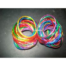 Gcg 1 Lote De 100 Pulseras De Colores Para Niñas