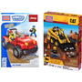 Set Mega Bloks Caterpillar Jeep Nuevos 97801 + 97803