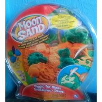 Arena Moldeable Moon Sand Dinosaurios. No Se Seca Nunca!!!