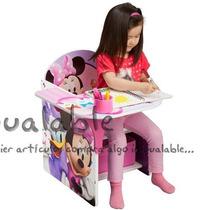 Escritorio De Silla Con Compartimento De Minnie