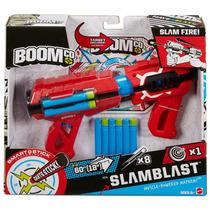 Boomco Slam Blast Mattel 8 Dardos 22m Dist. Lanzador Pistola
