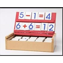 Caja De Matemáticas Aprende Jugando A Sumar Sumas Y Restas