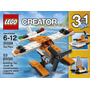 Lego Creator 3 En 1 Avión/barco/catamaran Nuevo Blakhelmet E